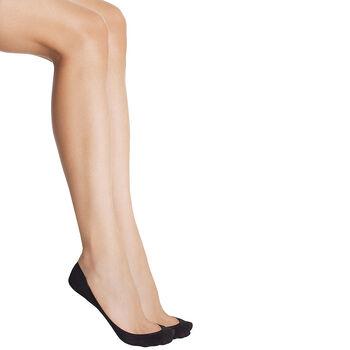Protège-pieds noir Easy Day Spécial Ballerines 52D-DIM