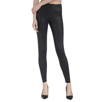 Treggings nero zebrato - LOVABLE