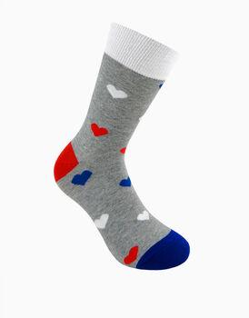 Calzini corti crazy socks, fantasia hearts       , , LOVABLE