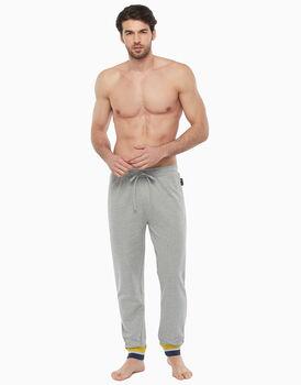 Pantalone in cotone, grigio melange, , LOVABLE