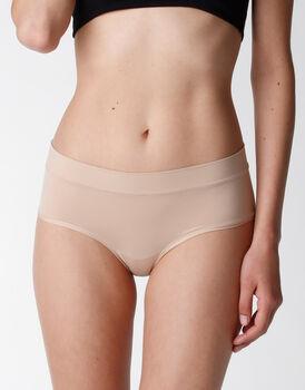 Culotte Body Bliss in microfibra, skin, , LOVABLE