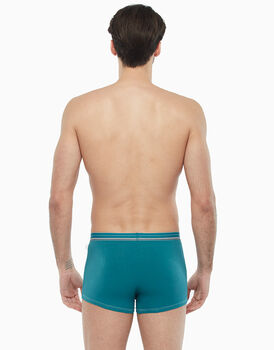 Boxer in cotone stretch, verde, , LOVABLE