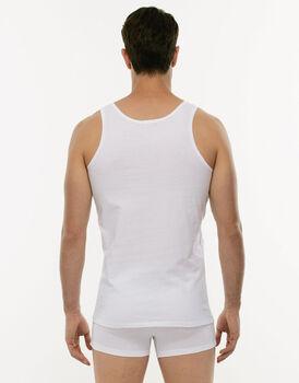 Canotta 100% Pure Cotton bianco in cotone-LOVABLE