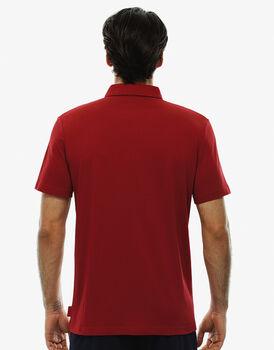 T-shirt manica corta rosso, in cotone-LOVABLE