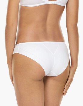 Slip Invisible Cotton bianco in cotone. Massima invisibilità-LOVABLE