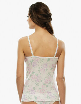 Top My Daily Comfort. Stampa acquerello, massimo comfort-LOVABLE