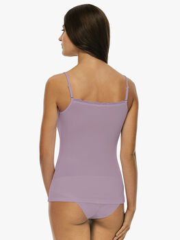 Top Basic Soul lilla in viscosa-LOVABLE