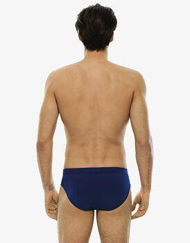 Slip blu royal in cotone elasticizzato-LOVABLE