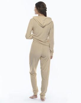 Homewear manica e gamba lunga skin in ciniglia , , LOVABLE