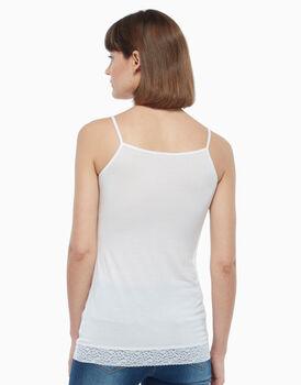 Top in cotone modal, bianco, , LOVABLE