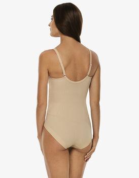 Body in microfibra con ferretto ultimate modelling, skin. Medio sostegno., , LOVABLE