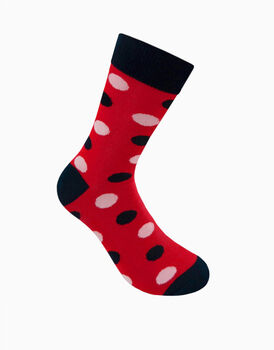 Calzini corti crazy socks, fantasia dots         , , LOVABLE