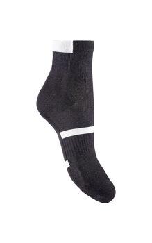 Calza corta nero donna in polyamide ed elastane-LOVABLE