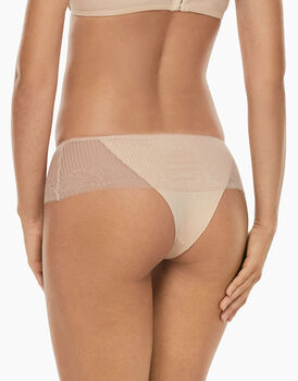 Culotte brasiliano Invisible Exclusive skin in microfibra e pizzo-LOVABLE