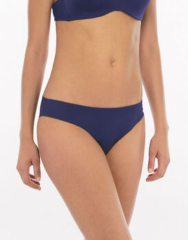 Slip blu navy in microfibra -LOVABLE