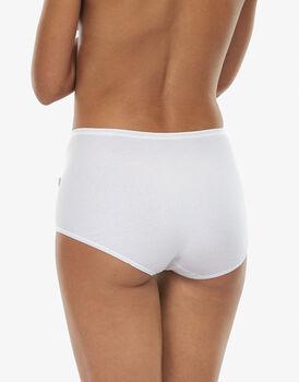 Slip maxi lovely, bianco in cotone soft, , LOVABLE