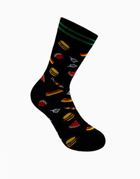 Calzini corti crazy socks, fantasia barbeque  , , LOVABLE