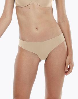 Perizoma Invisible Comfort Micro, confezione x3 skin, , LOVABLE