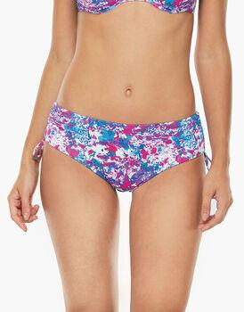 Bikini Slip Alto Stampa fiori in microfibra-LOVABLE