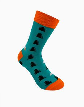Calzini corti crazy socks, fantasia camping      , , LOVABLE