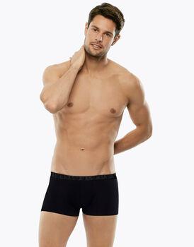 Boxer in cotone elasticizzato, nero, , LOVABLE