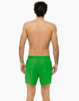 Boxer verde brillante in tessuto manopesca -LOVABLE