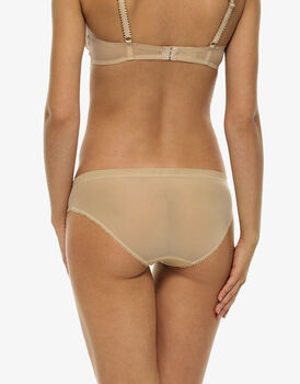 Slip Celebrity, skin, in pizzo e tulle-LOVABLE