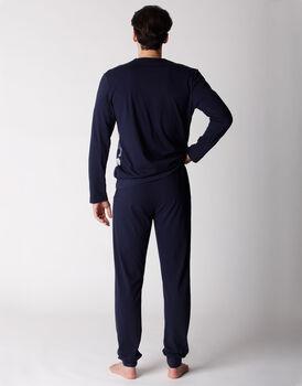 Pigiama uomo manica e gamba lunga, in jersey, stampa camuflage, , LOVABLE
