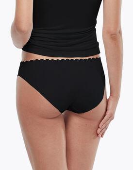 Slip Invisible Comfort in cotone, confezione x 3 nero, , LOVABLE