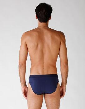 Bipack slip in cotone elasticizzato, blu, , LOVABLE