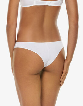 Brasiliano Easy Style Basic Cotton, bianco, in cotone-LOVABLE