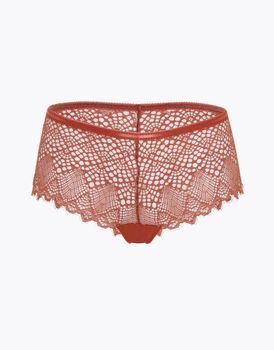 Culotte Trendy Lace in pizzo, terra di Siena, , LOVABLE