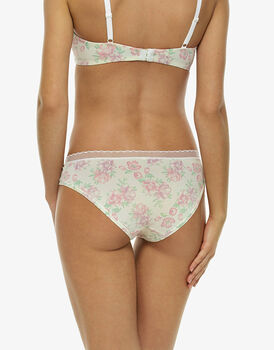 Slip My Daily Comfort stampa acquerello, in microfibra soft touch-LOVABLE