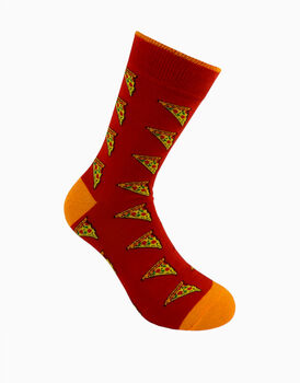 Calzini corti crazy socks, fantasia pizza, , LOVABLE