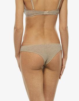 Brasiliano Easy Style Basic Cotton skin melange in cotone-LOVABLE