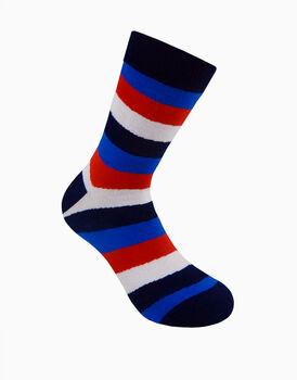 Calzini corti crazy socks, fantasia stripes, , LOVABLE