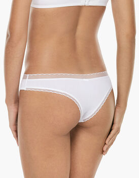 Brasiliano My Daily Comfort bianco in microfibra-LOVABLE