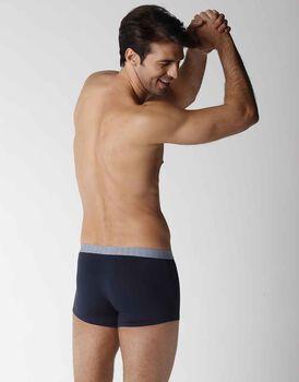 Boxer uomo in cotone modal, blu navy, , LOVABLE