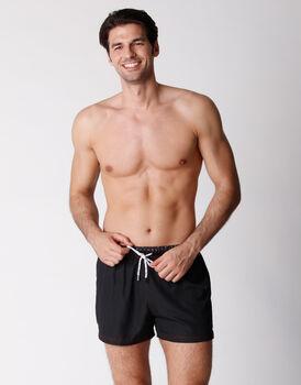 Costume short boxer in tessuto tecnico asciugatura rapida, nero, , LOVABLE
