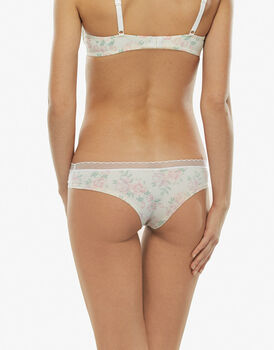 Brasliano My Daily Comfort stampa acquerello in microfibra soft touch-LOVABLE