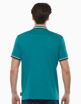 Polo in jersey, verde, , LOVABLE