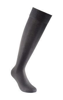 Calza uomo nero in cotone ed elastane-LOVABLE
