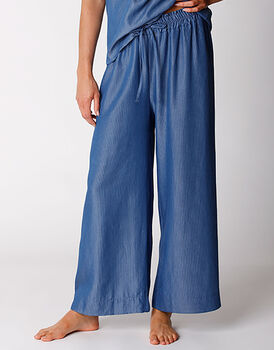 Pantalone in tela effetto jeans, , LOVABLE