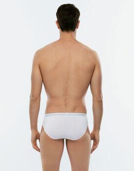Slip Easy Trend bianco in cotone elasticizzato-LOVABLE