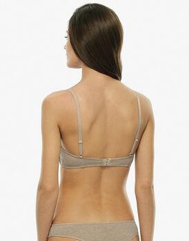 Reggiseno triangolo senza ferretto, imbottitura leggera Easy Style Basic Cotton, skin melange, in cotone-LOVABLE