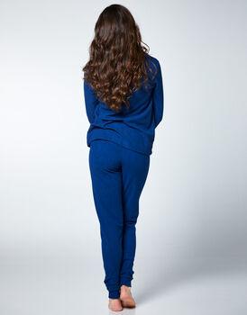 Homewear in pile, blu, , LOVABLE