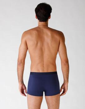 Boxer in cotone elasticizzato, confezione x4 blu, , LOVABLE