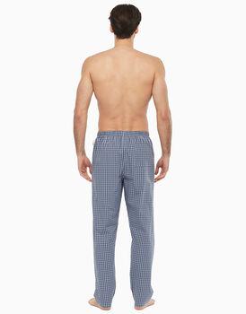 Pantalone in tela, blu a quadri, , LOVABLE