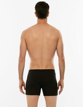 Boxer parigamba 100% Pure Cotton nero in cotone-LOVABLE