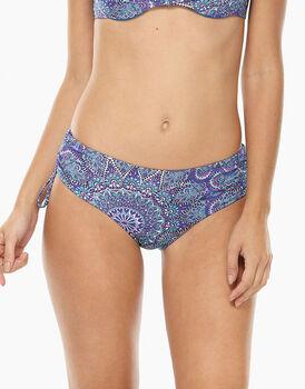 Bikini Slip Alto Stampa rosone in microfibra-LOVABLE